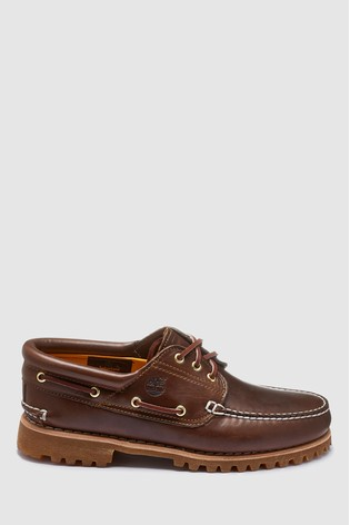 d0933c121a Buy Timberland® Brown 3 Eyelet Classic Boat Shoe from Next Austria