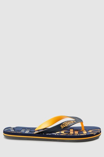 61e059964bda0e Buy Superdry Navy Scuba Flip Flop from the Next UK online shop