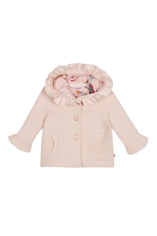 b4aa2ee31 Buy baker by Ted Baker Baby Girls Pink Jacket from the Next UK ...