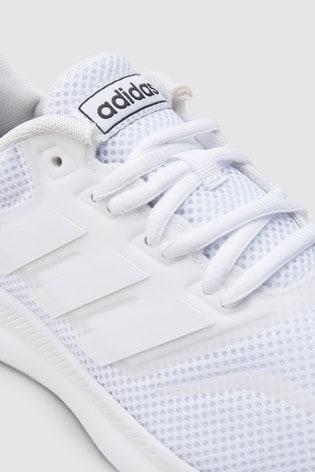 half off e73e4 807ac ... White adidas Run Falcon Junior   Youth