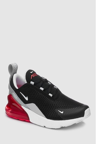 nike air max 270 junior zwart
