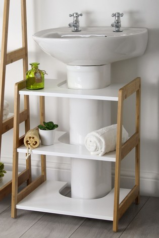Lloyd Pascal Bamboo Under Sink Shelves