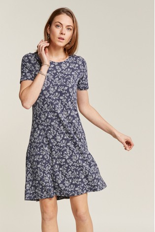 e120e70649c138 Buy FatFace Blue Simone Prairie Dress from the Next UK online shop
