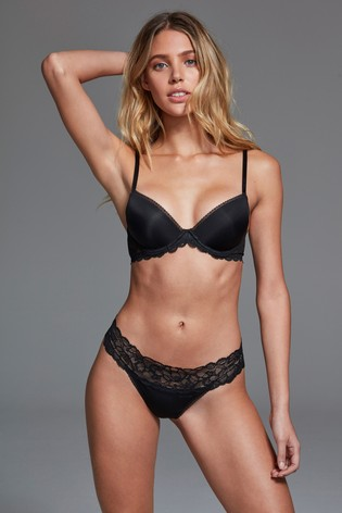 a500bb0976c8 Buy Calvin Klein Black Thong from the Next UK online shop