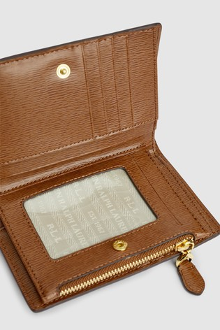 Wallet Polo Purse Tan Leather Ralph Lauren® tCxhrsQd