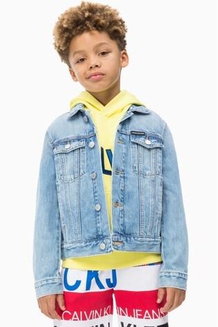 2f926d432d Buy Calvin Klein Jeans Boys Brenton Denim Jacket from the Next UK ...