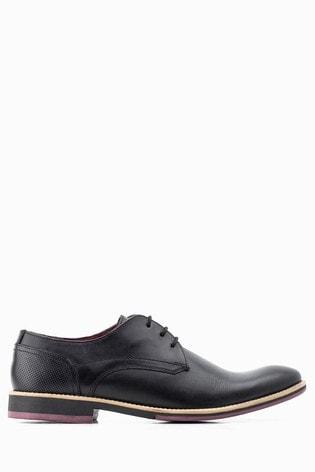 purchase cheap 64583 13c64 Base London® Black Ridley Lace Up Shoe