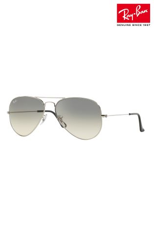 ebc39c73642fac Luxembourg Aviator Grey Ray Ban® Silver Next From Buy TR68x1wR
