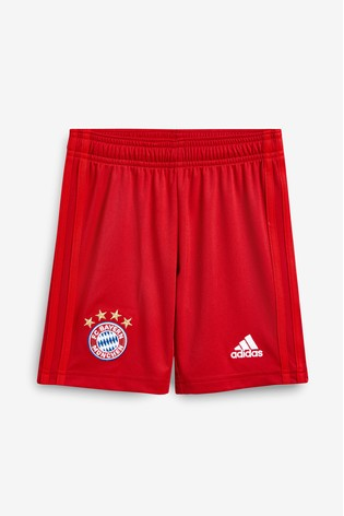 huge discount 43008 01637 adidas Youth Red FC Bayern Munich 19/20 Home Short
