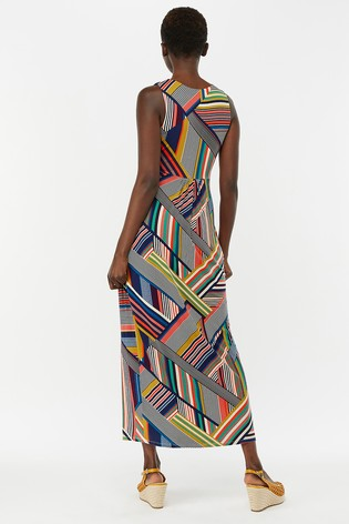 a5316c316e Buy Monsoon Ladies Blue Siani Print Maxi Dress from Next Ireland
