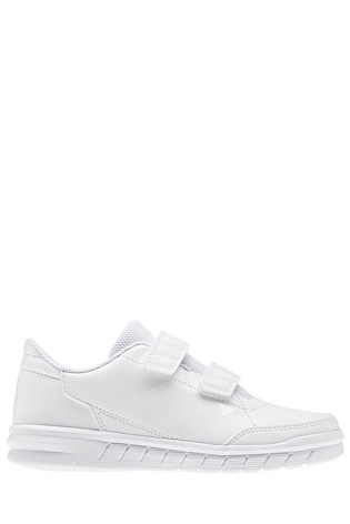 sports shoes 8482d 9c900 White adidas Altasport Junior   Youth ...
