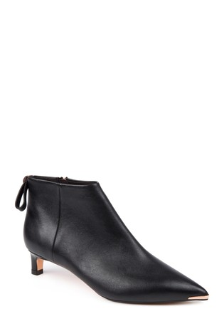 a9c68d7f7 Buy Ted Baker Black Amaedi Leather Kitten Heel Ankle Boot from the ...