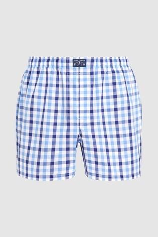 Shorts Polo Lauren® Blue 3 Ralph Boxer Pack Woven tCshrQd