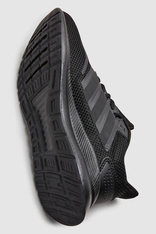 pretty nice 4024f 7525d ... Black adidas Run Falcon Junior   Youth ...