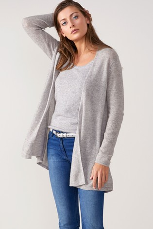 Buy Pure Collection Grey Cashmere Cardigan from the Next UK online shop 00b4598a3