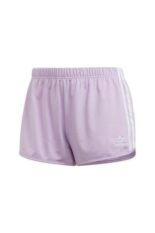 3acf3c6bd Buy adidas Originals Lilac 3 Stripe Short from the Next UK online shop