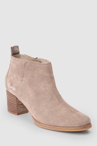 a55ab8016e0 Buy Timberland® Beige Suede Eleonor Street Ankle Boot from the Next ...