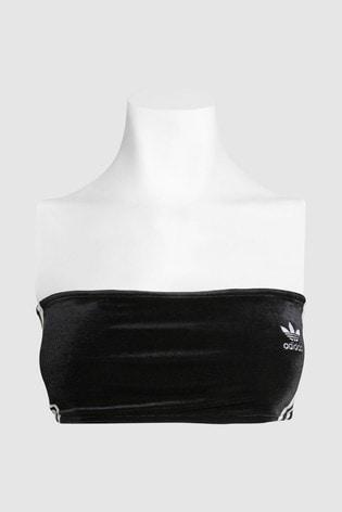198784b889 Buy adidas Originals Black 3 Stripe Bra from the Next UK online shop