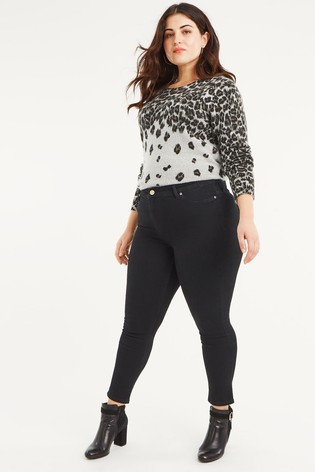 02ade05e4a47 Buy Oasis Black Curve Lily Skinny Jean from Next Italy