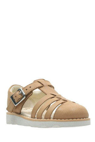 fa49084cfc584 Buy Clarks Tan Crown Stem T Sandal from the Next UK online shop