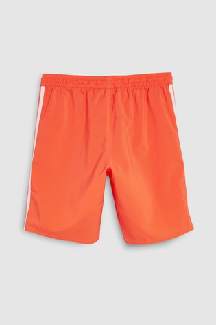 b0d1bf874d Buy adidas True Orange 3 Stripe Swim Short from Next Bahrain