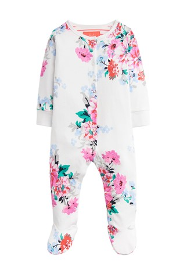 b32d5f745d8 Buy Joules White Razamataz Jersey Printed Babygrow from Next Cyprus