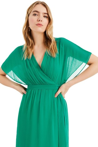 40b257af81 Buy Phase Eight Green Hyria Chiffon Maxi Dress from the Next UK ...