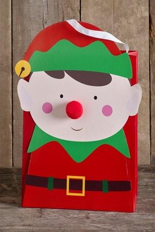 Elf Christmas Gift Bags.Elf Christmas Gift Bag