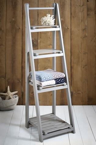 Painted Ladder Shelf