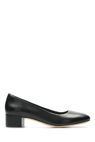 5e3827735c0b Buy Clarks Wide Fit Black Orabella Alice Shoe from the Next UK ...