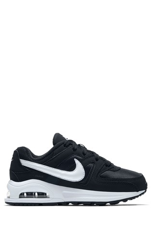 code promo d1ad2 2cc96 Buy Nike Black/White Air Max Command Junior from Next Cyprus