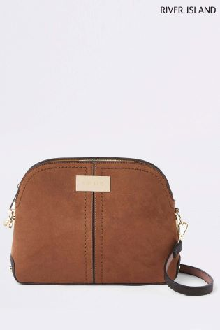 37b5a8d7d Buy River Island Brown Kettle Cross Body Bag from Next Ireland
