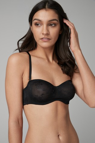 4466094258c Buy Jamie Non Padded Lace Bandeau Bras Two Pack from Next Pakistan