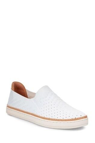 b2f8b5334ab UGG® Sammy Chevron White Slip-On Shoe