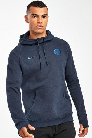 pretty nice f426a ee5d1 Nike Navy Chelsea Football Club Fleece Hoody