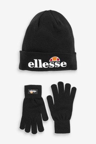 49d4c12189 Ellesse Hat and Gloves Set
