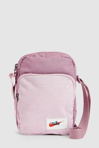 26c07315cac61 Buy Nike Heritage Pink Small Items Bag from Next Ireland