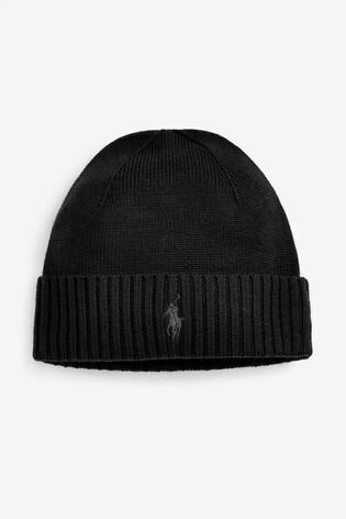 attraktiver Stil Veröffentlichungsdatum offizieller Verkauf Polo Ralph Lauren Merino Wool Beanie Hat
