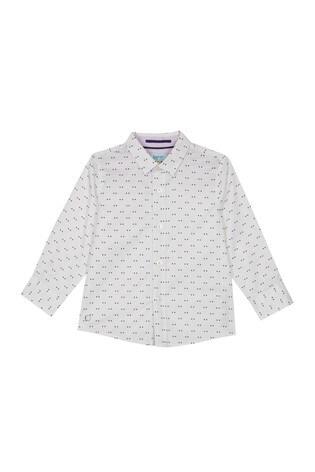 f53f60f4635e5 Buy baker by Ted Baker Toddler Boy Dot Long Sleeved Shirt from Next ...