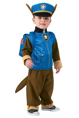 12ff2705846 Rubies Paw Patrol Chase Fancy Dress Costume