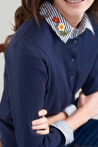 Buy Joules Skye Button Front Cardigan from the Next UK online shop 229615d74
