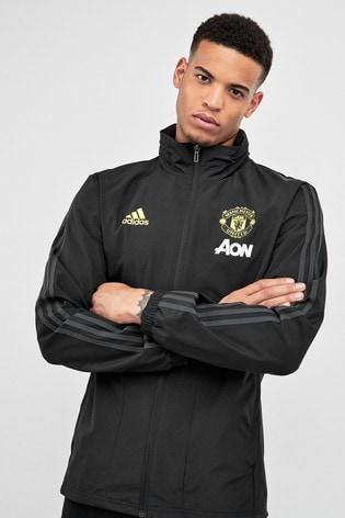 adidas Black Manchester United Training Jacket