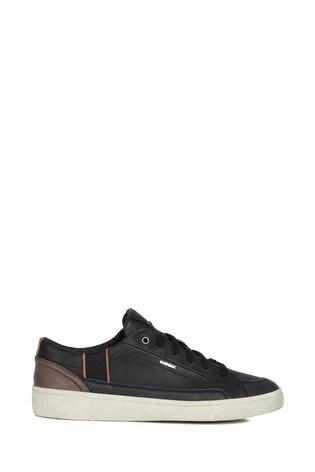 big sale pick up save off Geox Men's Warley Black Shoes