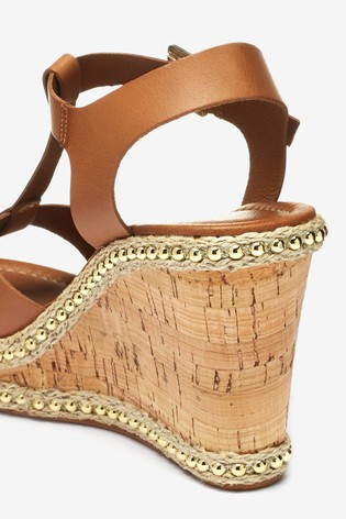 87951ef2e Buy Carvela Tan Leather Karoline Wedge from the Next UK online shop