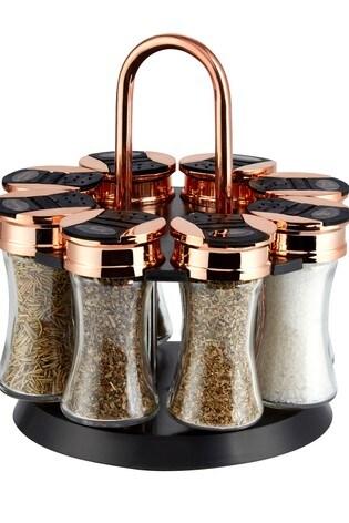 Tower 8 Jar Spice Rack