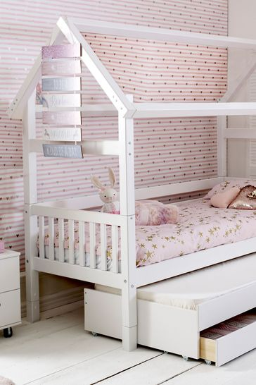 Trundle Bed.House Trundle Bed By Parisot