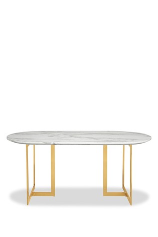 Next.co.uk & Solene Pill Oval Dining Table