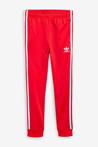 cheap for sale so cheap new specials adidas Originals Red Superstar Joggers