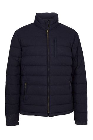 1b9786055 Buy FatFace Blue Ripstop Padded Jacket from Next Kuwait