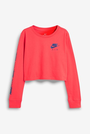 e12c5d9a3bf196 Buy Nike Air Long Sleeved Crop Top from the Next UK online shop